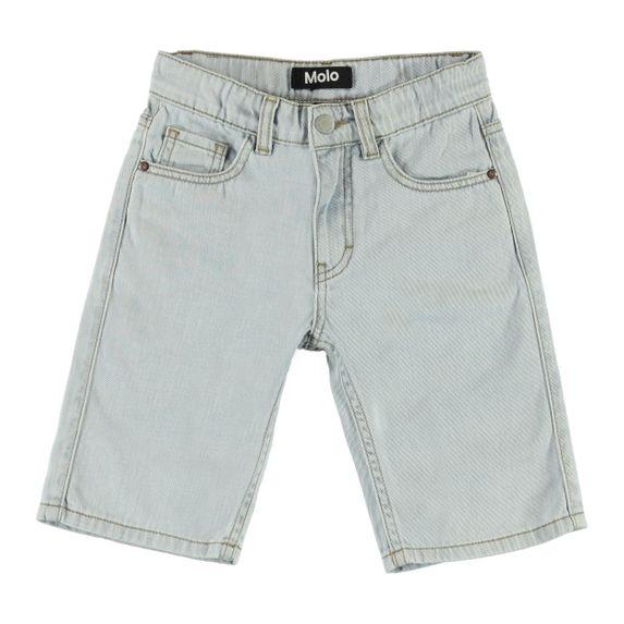 Шорты джинсовые Molo Adrik Even Pale Wash, арт. 1S20H107.8166, цвет Голубой