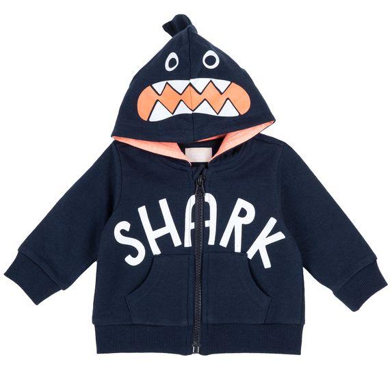 Кардиган Chicco Shark, арт. 090.09384.088, цвет Синий