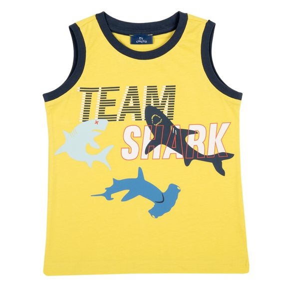 Майка Chicco Team shark, арт. 090.68172.041, цвет Желтый
