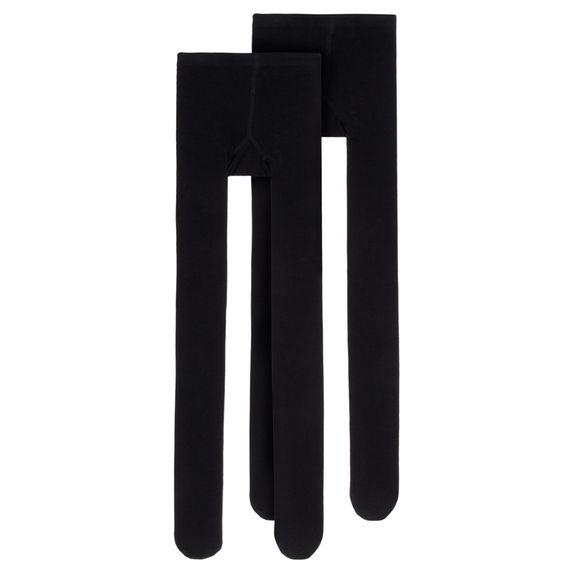 Колготы (2 шт) Name it Black, арт. 203.13163810.BLAC, цвет Черный