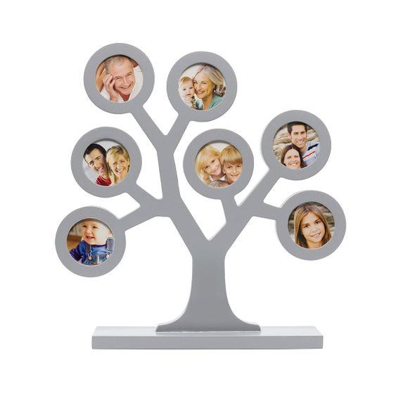 "Рамка для фото Pearhead ""Мое семейное дерево"" (серая), арт. P62112, цвет Серый"