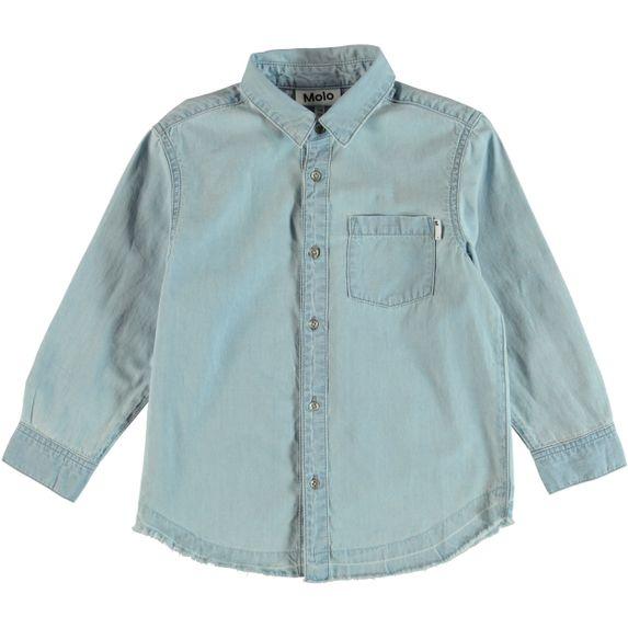 Рубашка Molo Raft, арт. 1S19C203.1110, цвет Голубой