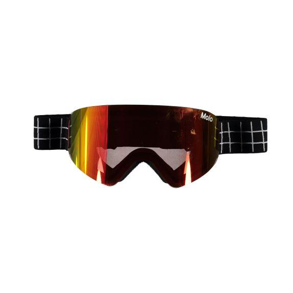 Лыжные очки Molo Falcon Gold Rainbow, арт. 7NOSS801.8247, цвет Черный