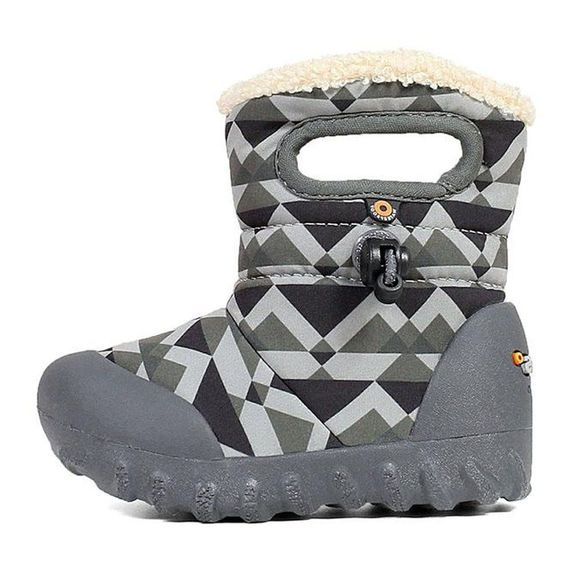 Сапоги Bogs B-Moc kid's Mountain gray, арт. 203.72459K.062, цвет Серый