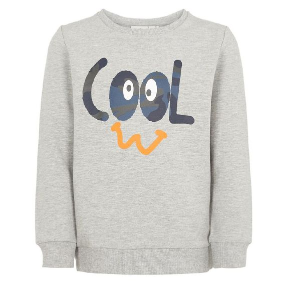 Джемпер Name it Cool, арт. 193.13170102.GMEL, цвет Серый