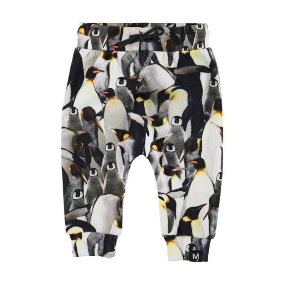 Брюки Molo Solom Penguins Galore, арт. 3W19I207.6018, цвет Серый