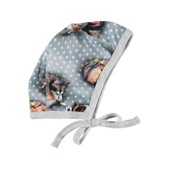 Шапка Molo Ninna Pets'n Dots, арт. 7W19T202.4872, цвет Серый