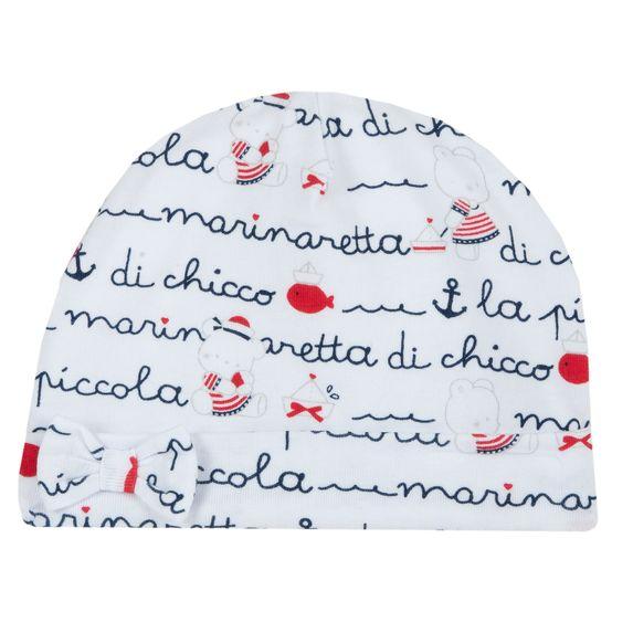 Шапка Chicco Saint Tropez, арт. 090.04638.033, цвет Белый