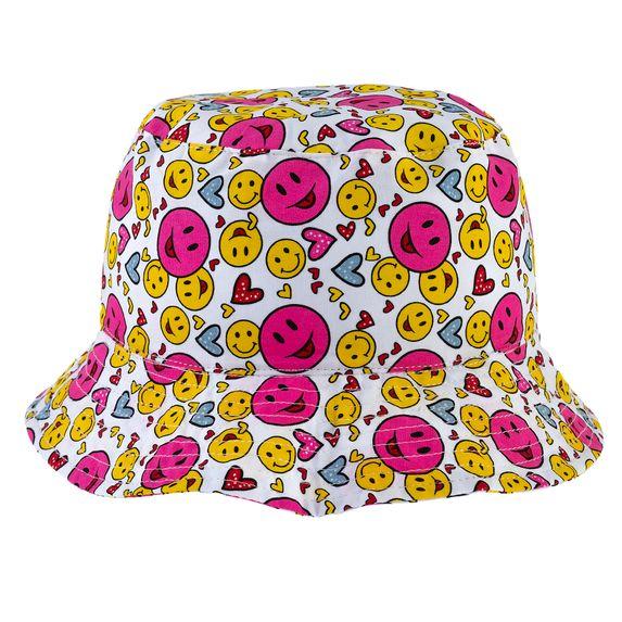 Панамка двухсторонняя Chicco Emoji, арт. 090.04702.031, цвет Малиновый