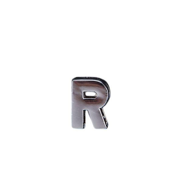 "Эмодзи Tinto ""Буква R"", арт. GMLT00928, цвет Серебряный"