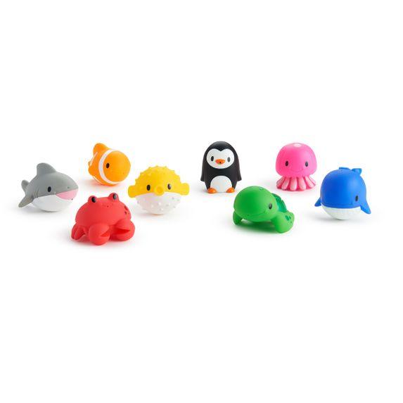 """Игрушечный набор для ванной Munchkin """"Океан"""", 8 шт., арт. 012335, цвет Разноцветный"""