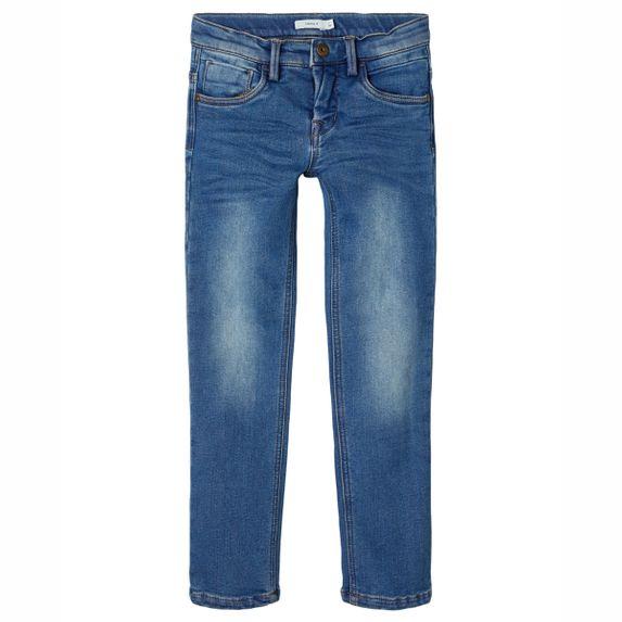 Утепленные джинсы Name it Sweet denim, арт. 203.13180596.MBLU, цвет Синий