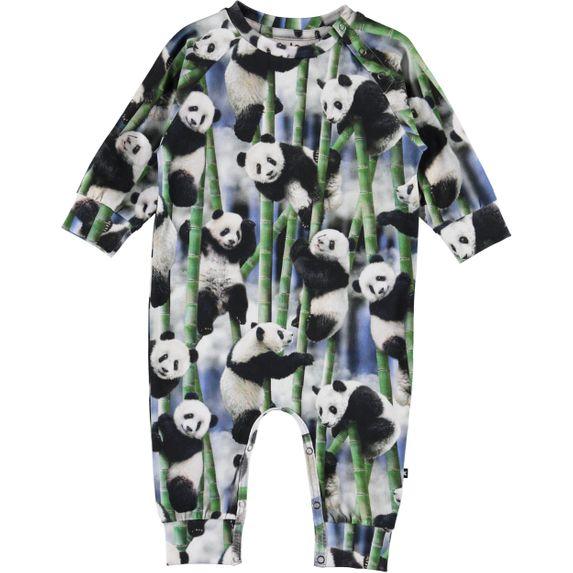 Комбинезон Molo Fairfax Panda, арт. 3S20B505.6051, цвет Черно-белый