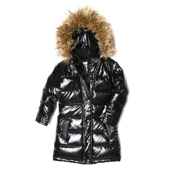 Куртка пуховая Appaman Lucy , арт. 193.U5LD.spb, цвет Черный