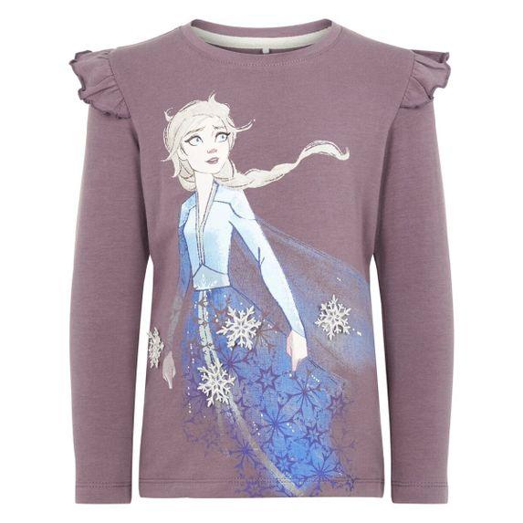 Реглан Name it Frozen Elsa , арт. 193.13171317.BPLU, цвет Сиреневый