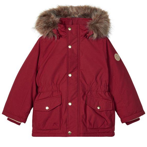 Куртка-парка Name it Carin, арт. 203.13178868.BRED, цвет Красный