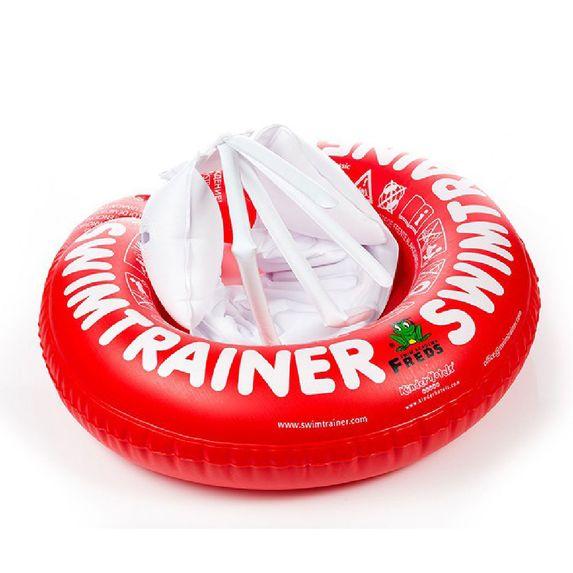 Круг для обучения детей плаванию SWIMTRAINER, 3 мес.- 4 года, арт. 10110, цвет Красный