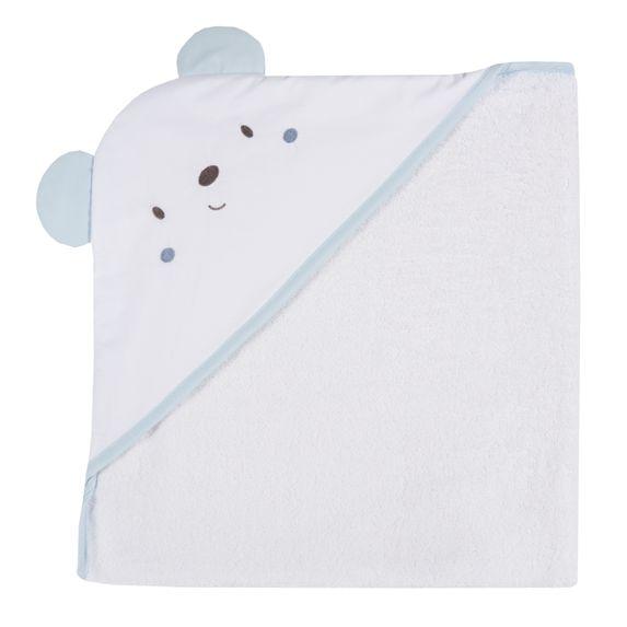 Полотенце Chicco Smile bear, арт. 090.40968.021, цвет Голубой