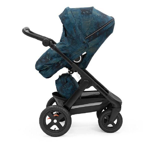 Прогулочная коляска Stokke Trailz Freedom Limited Edition, арт. 544401, цвет Синий