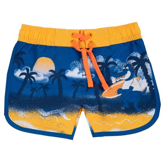 Шорты Chicco Surf time, арт. 090.07057.081, цвет Желтый с синим