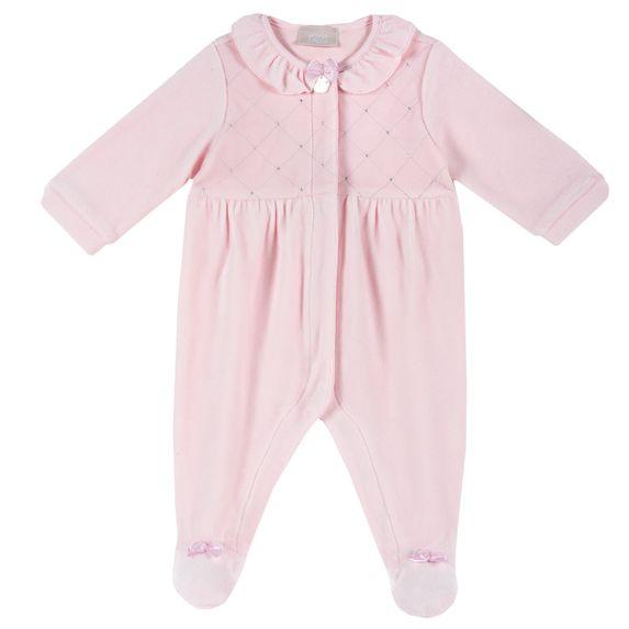 Комбинезон велюровый Chicco Cute fairy, арт. 090.21157.011, цвет Розовый