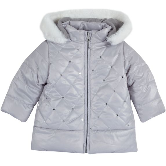 Термокуртка Chicco Stella, арт. 090.87163.091, цвет Серый