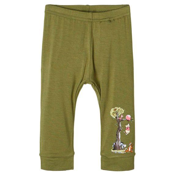 Брюки Name it Winnie the Pooh (зеленые), арт. 201.13176569.LGRE, цвет Оливковый