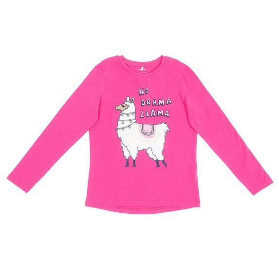 Реглан Name it Llama, арт. 201.13176910.FPUR, цвет Малиновый