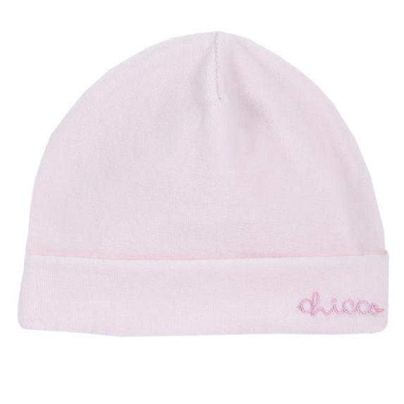 Шапка велюровая Chicco Rabbit, арт. 091.04647.011, цвет Розовый