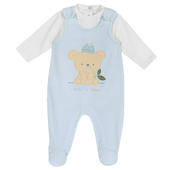 Комплект Chicco Koala: боди и полукомбинезон, арт. 090.77452.021, цвет Голубой